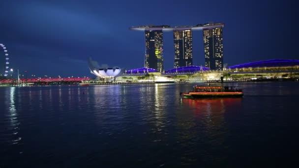 Singapurského přístavu Panorama