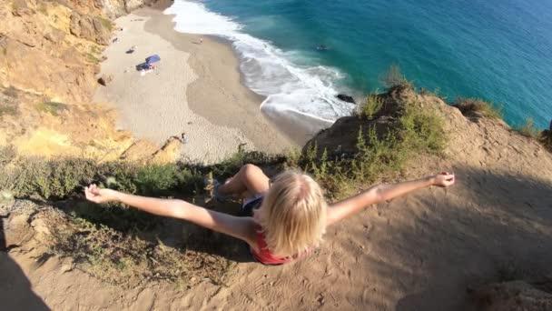 Nő a California West Coast