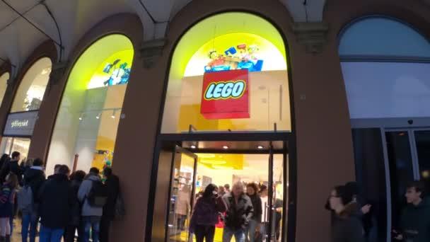 LEGO průčelí bologna
