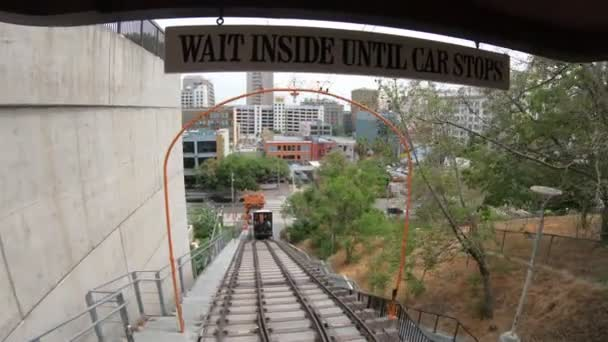 Angels Flight Los Angeles POV