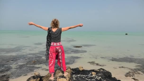 Tourist at Al Thakira Mangroves