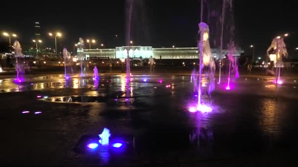 Fountain at Souq Waqif Park