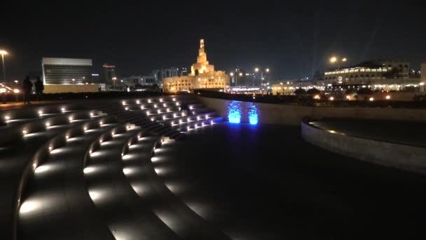 Amphitheater Doha night