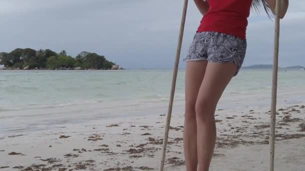 Schaukeln auf den Seychellen