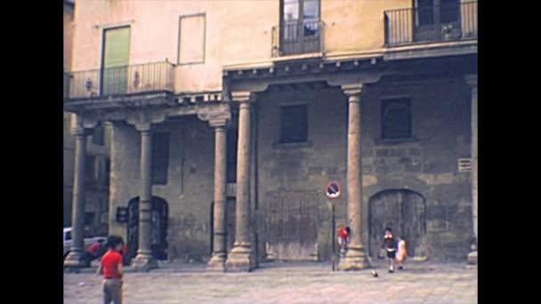 archival Tarragona Cathedral square