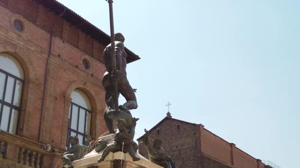 Neptunstatue aus dem Schandstein von Bologna
