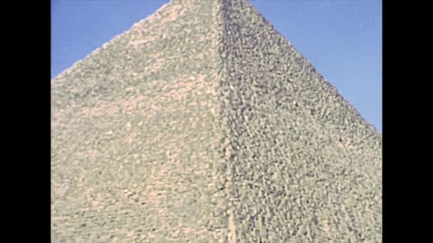 archival Great Giza Pyramid from Valley Temple