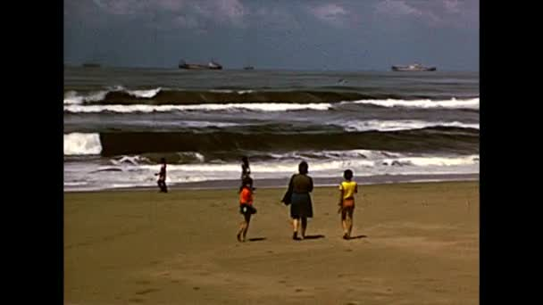 Archival Durban Beach panorama