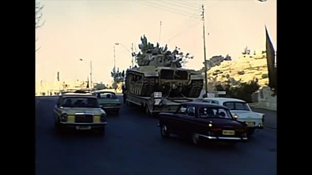 Izraelská nádrž v Jeruzalémě