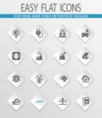 Alternative Energie-Symbole festlegen für Websites und Benutzeroberfläche