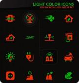 Ikonen der alternativen Energien