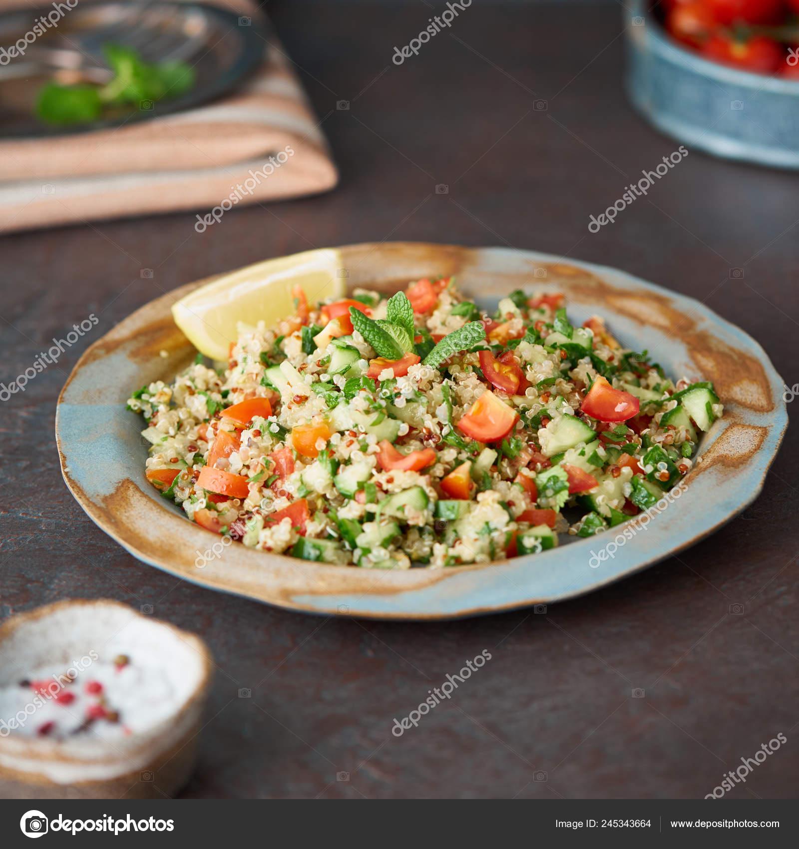 ensalada de quinoa para dieta
