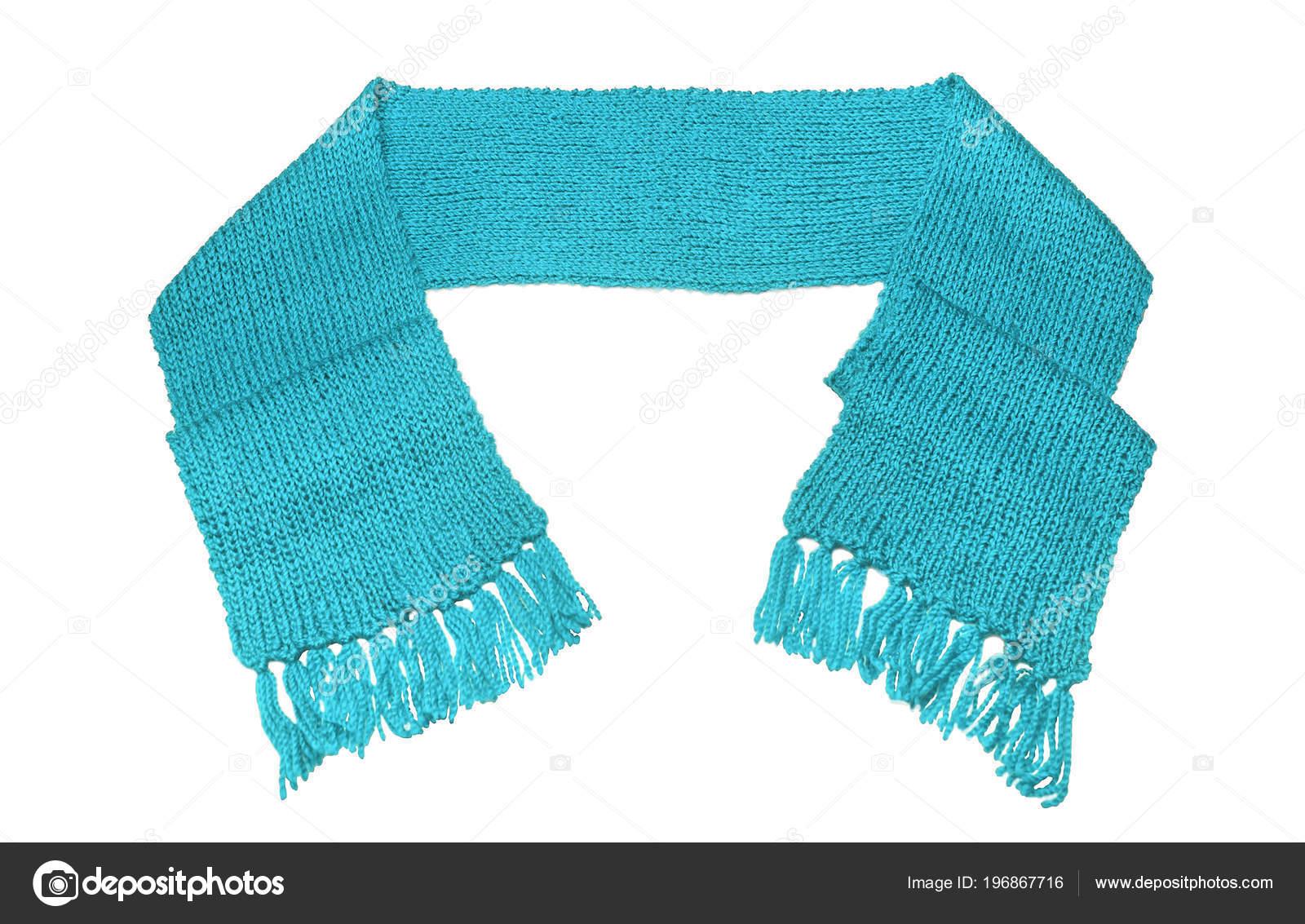 d430b0c4fff21 Warm winter scarf. Isolated on white background. — Photo by  tanya.rozhnovskaya@gmail.com| ...
