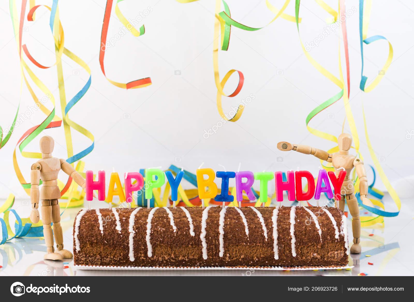 Happy Birthday Cake Close Shot Stock Photo C Were Photography