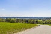 Fotografie Ansicht der Straße zum See Ammersee, Deutschland