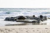 Pláž v Tarifě na pobřeží Andalusie