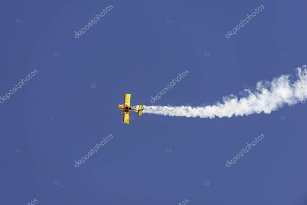 Bauru/So Paulo/Brazil - 8 June 2019: Air Arrai Inspiring Generations. One of the biggest aerial shows
