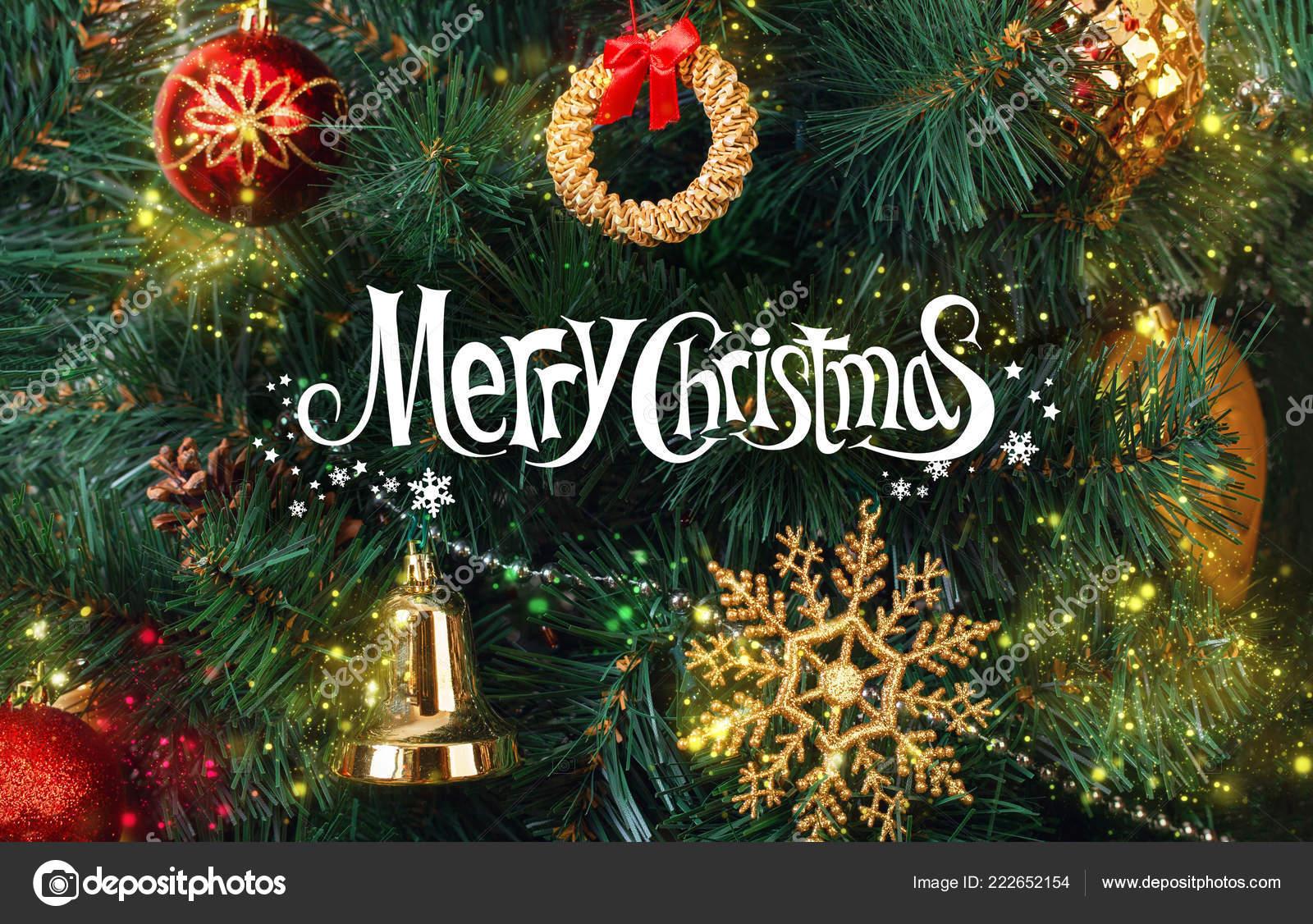 Greeting Card Wish Merry Christmas