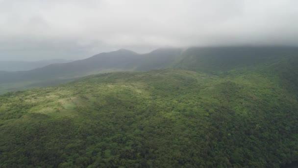 Horská krajina na Filipínách.