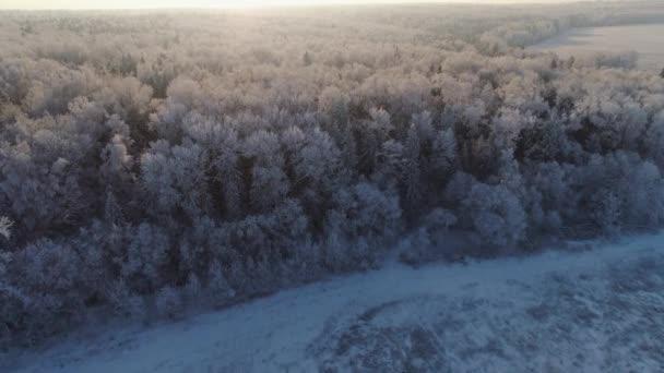 Téli táj vidéken