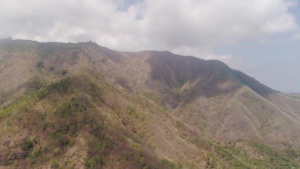 Mountain landscape indonesia