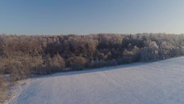 Winterlandschaft auf dem Land