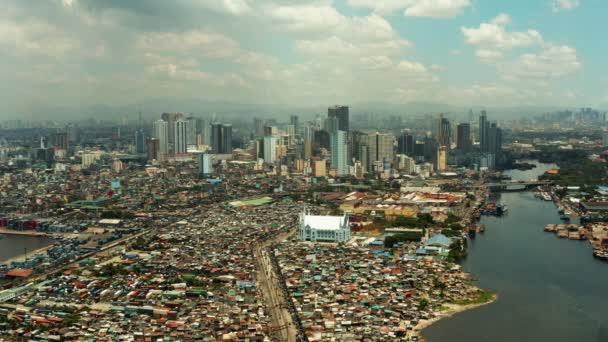 Město Manila, hlavní město Filipín.