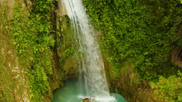 Beautiful tropical waterfall Philippines, Cebu