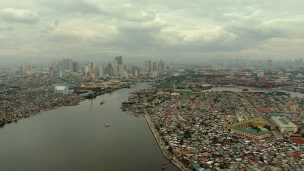 Manilské město, hlavní město Filipín.