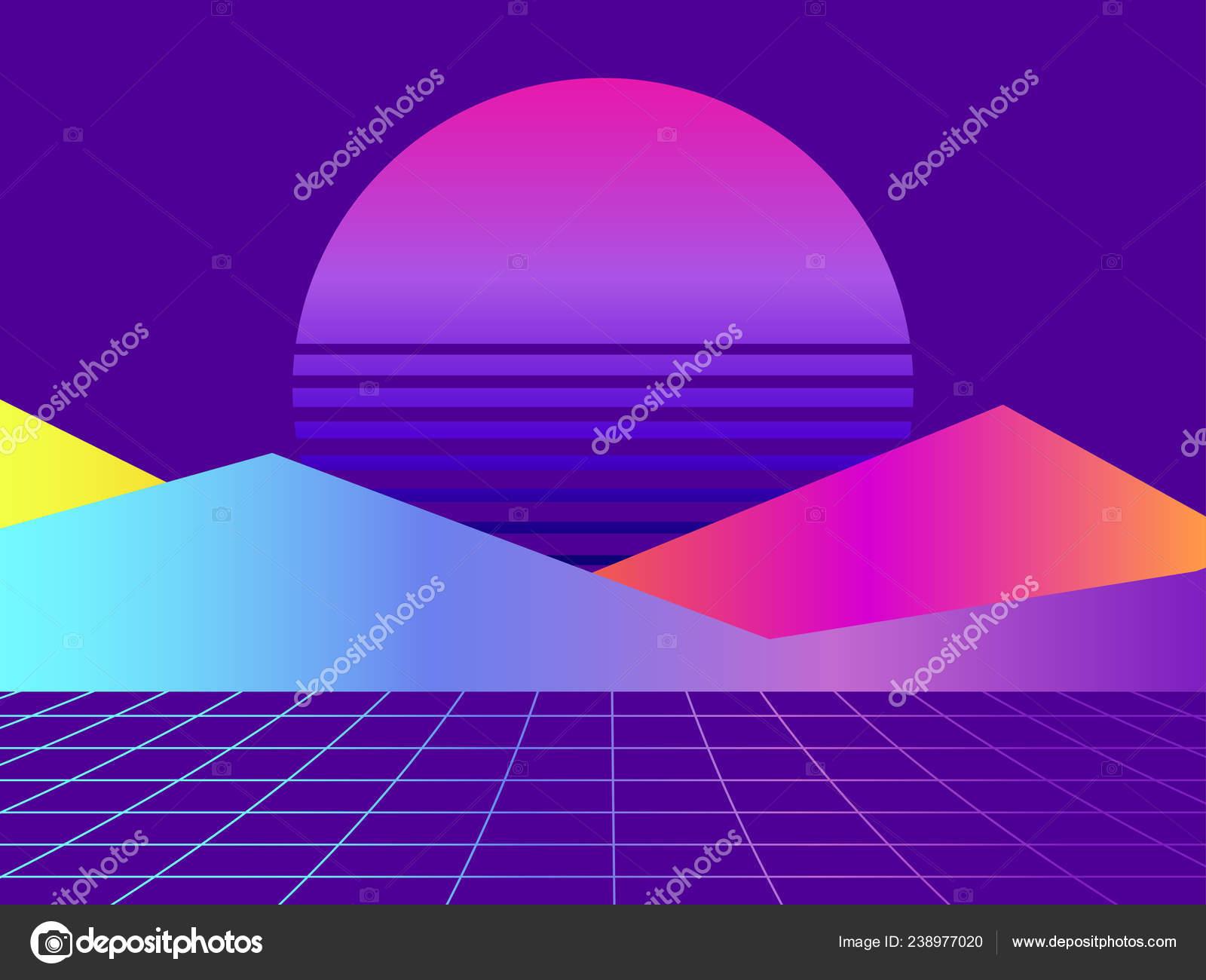 Liquid Wave Violet Gradient Modern Trend Background
