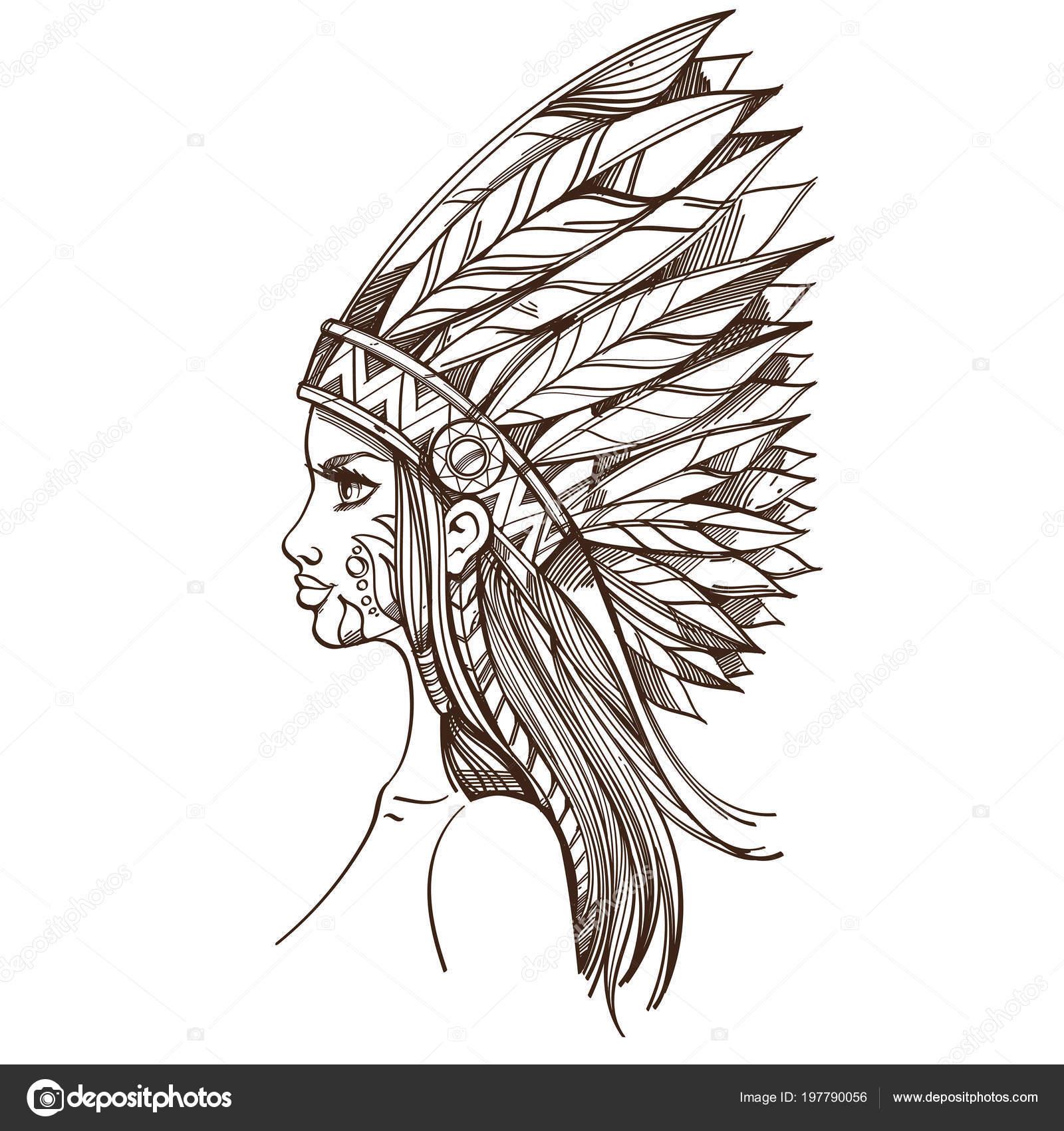 Najít indiánskou dívku