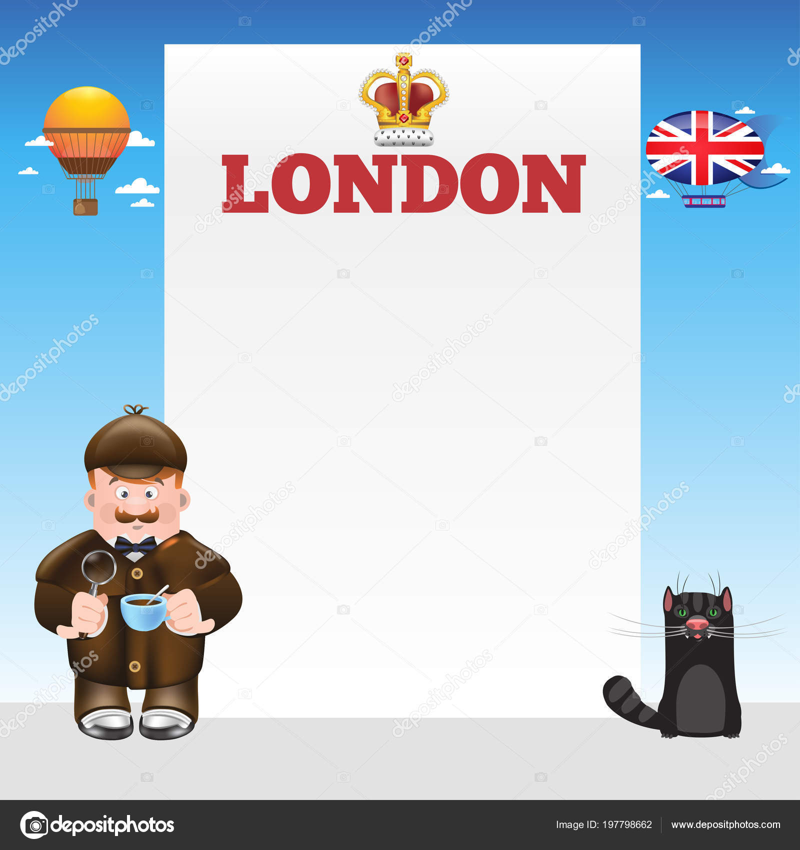 london sherlock holmes template design tourist posters brochures