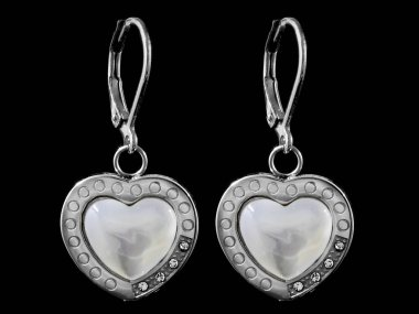 Earrings - Jewelry for women - Stainless steel - One color background