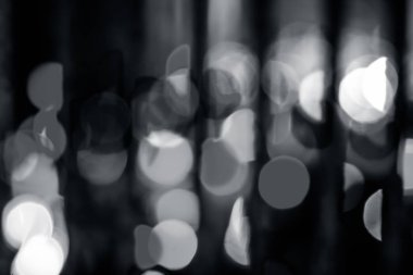 abstract background of festive lights bokeh.