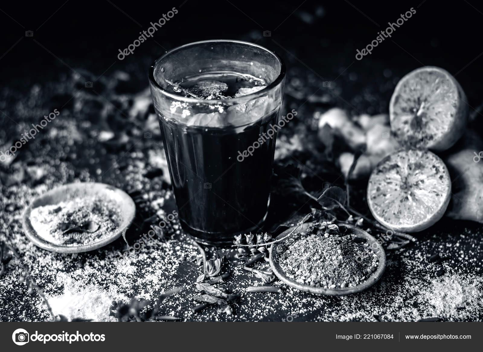 Herbal Drink Kashmiri Kahwa Winter Season Asia India Its