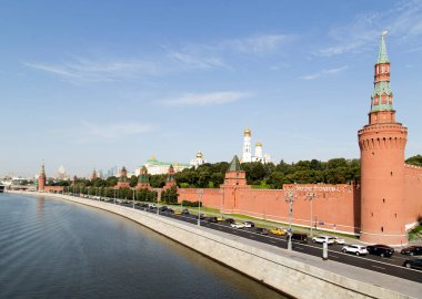 Kremlin. The architecture of the Moscow Kremlin. Russia Moscow. City landscape.