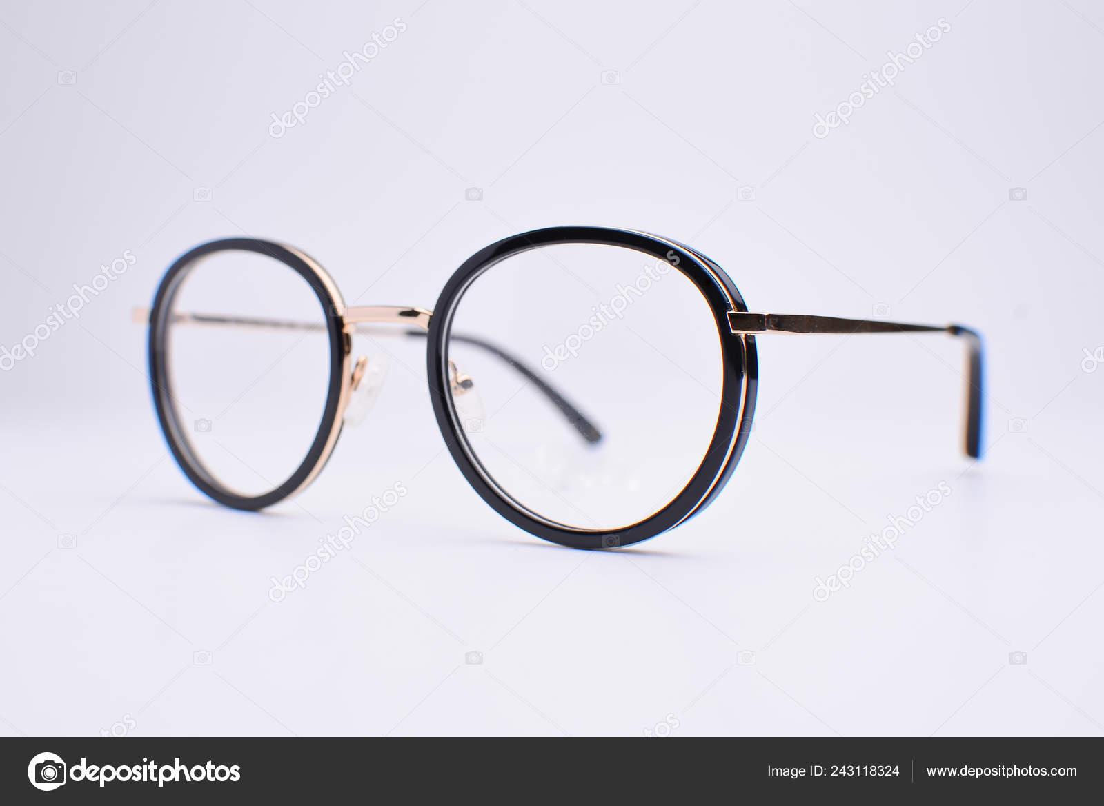 Eye Glasses Isolated White Background Stock Photo