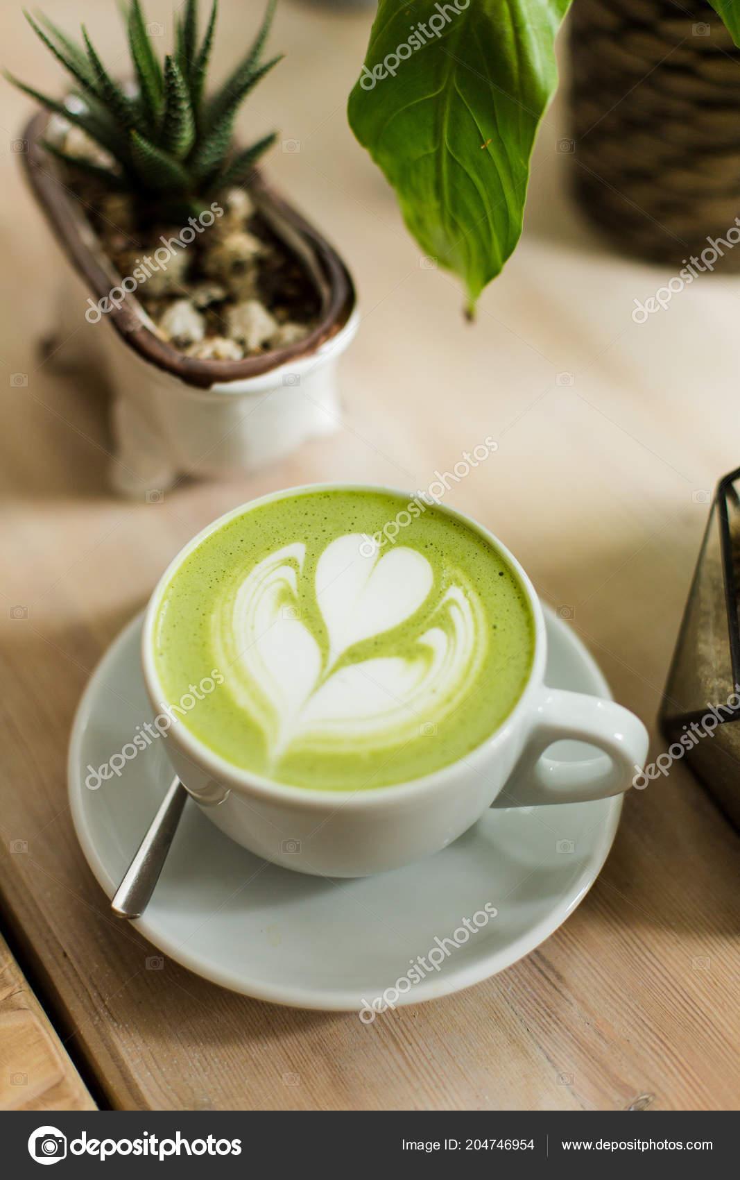 matcha latte koffein