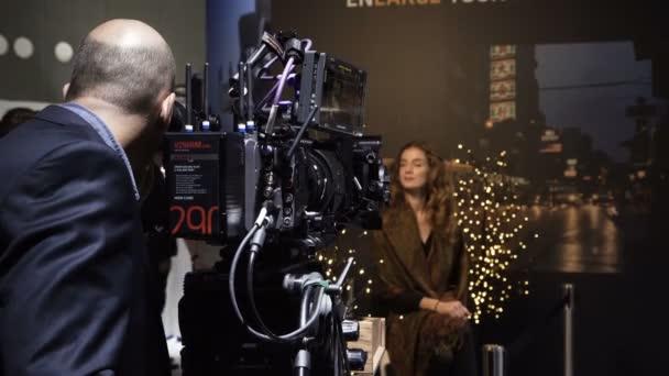 arri stand mit kameras auf ibc 2018