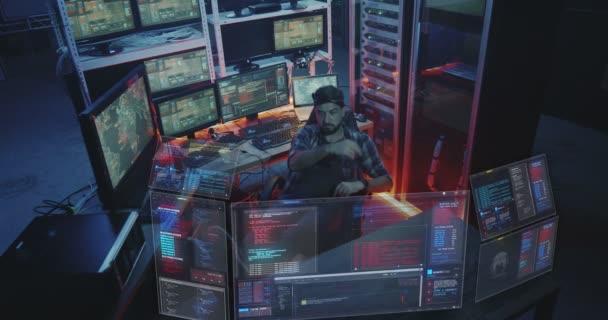 computer sitting caucasian male man technology