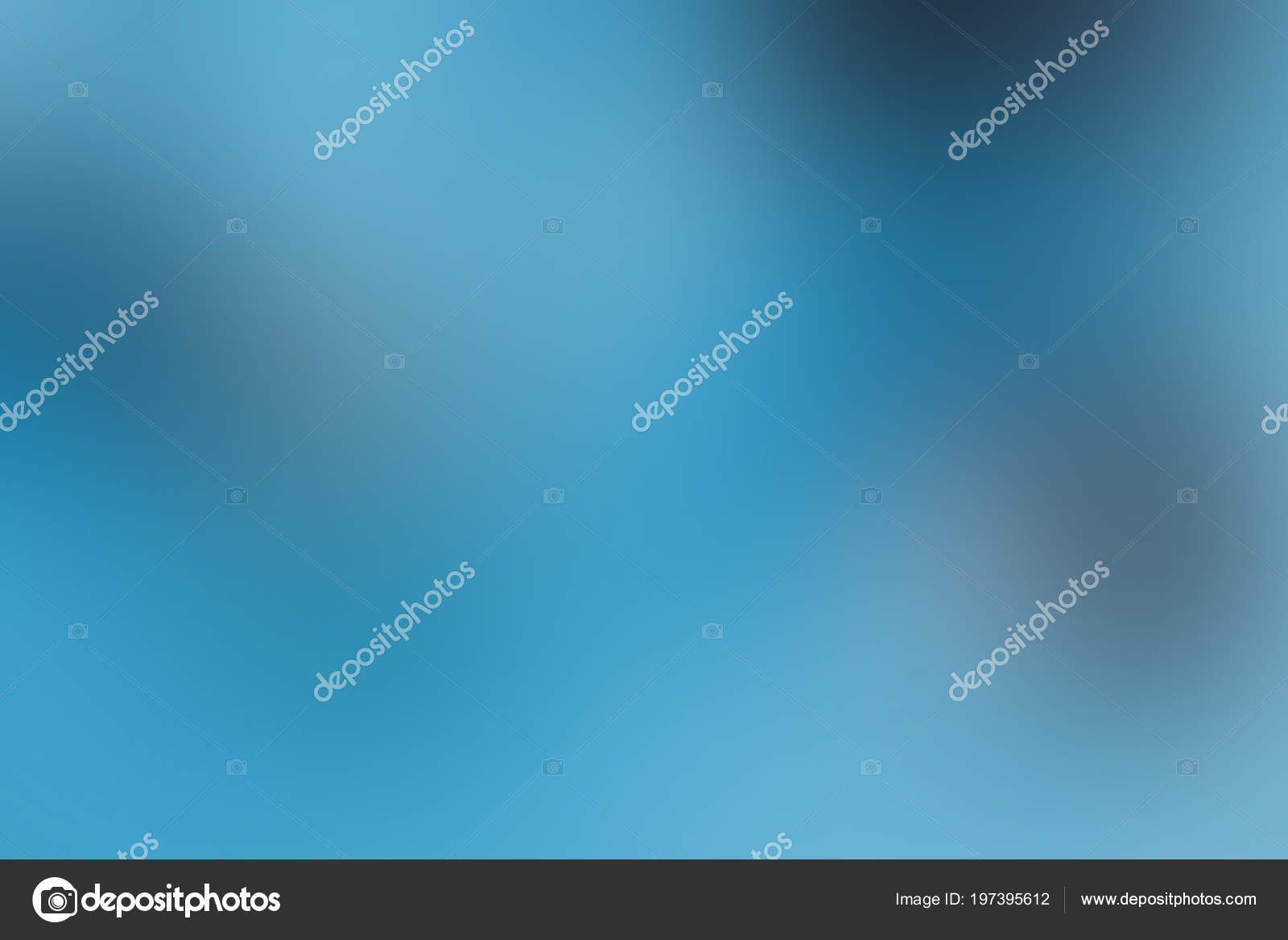 Gradient Background Blue Sky Ice Ink Blur Smooth Soft Wallpaper Stock Photo