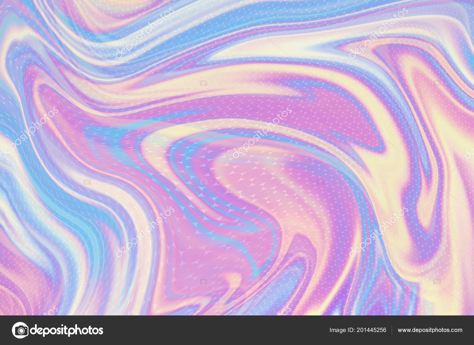 Neon Astratto Sfondo Olografico Effetto Sfumatura Trama Ologramma