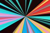 Hallucinogén fluoreszcens hátterén szürreális színek. Absztrakt illúzió ital és a kábítószer-téma. Pszichedelikus trópusi hatása cannabis vagy alkohol. Az LSD hatása. Absztrakt sugarak háttér. Színes gerenda minta. Stílusos-illusztrációja modern trend colo