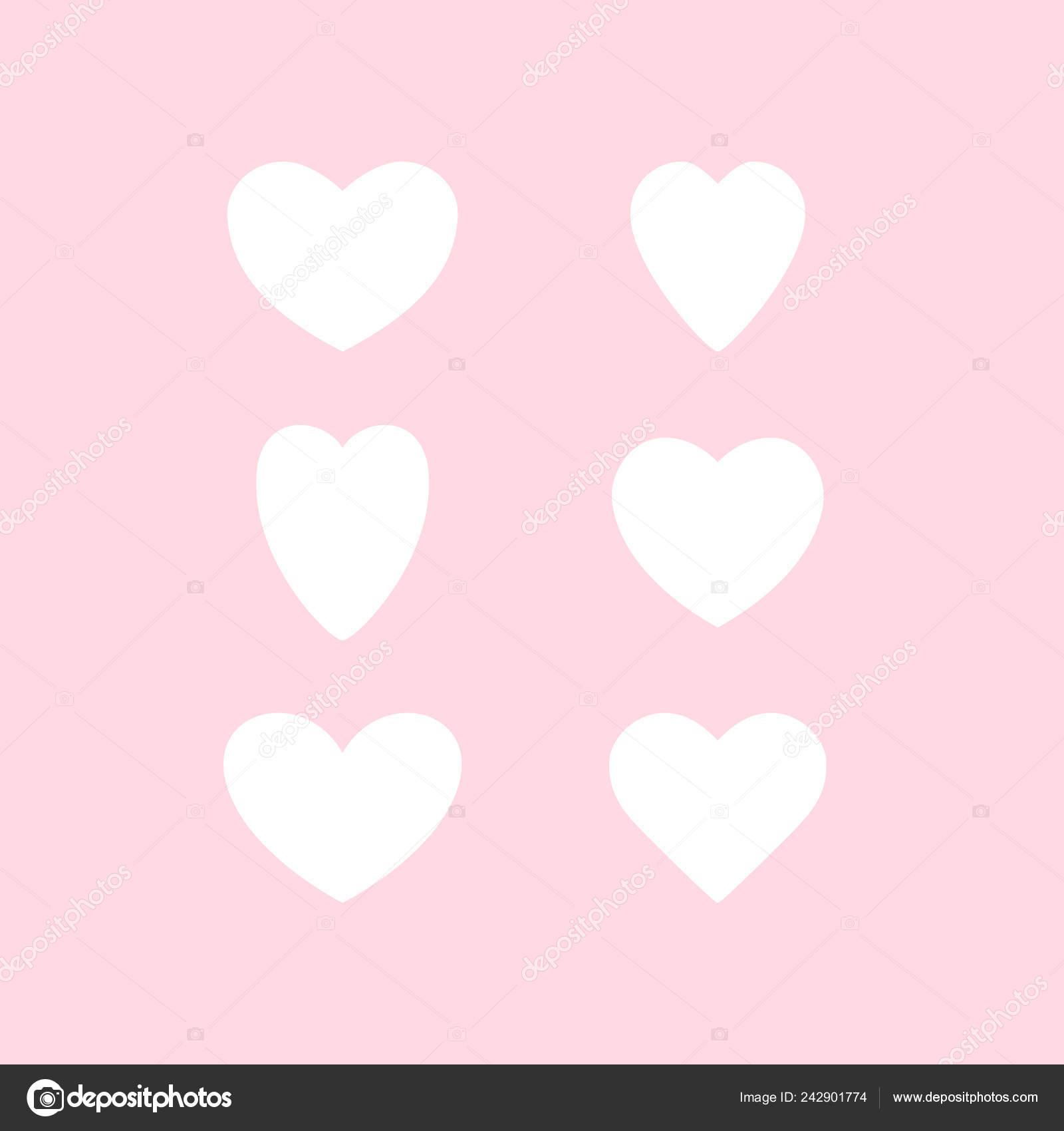 Heart Shapes Templates Vector Set Hearts Heart Templates Variety Heart Shapes Valentines Hearts Stock Vector C Baranovskaya 242901774
