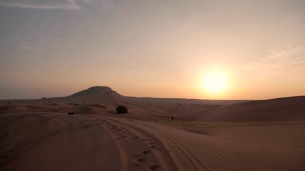 Sunset, az Arab-sivatagban