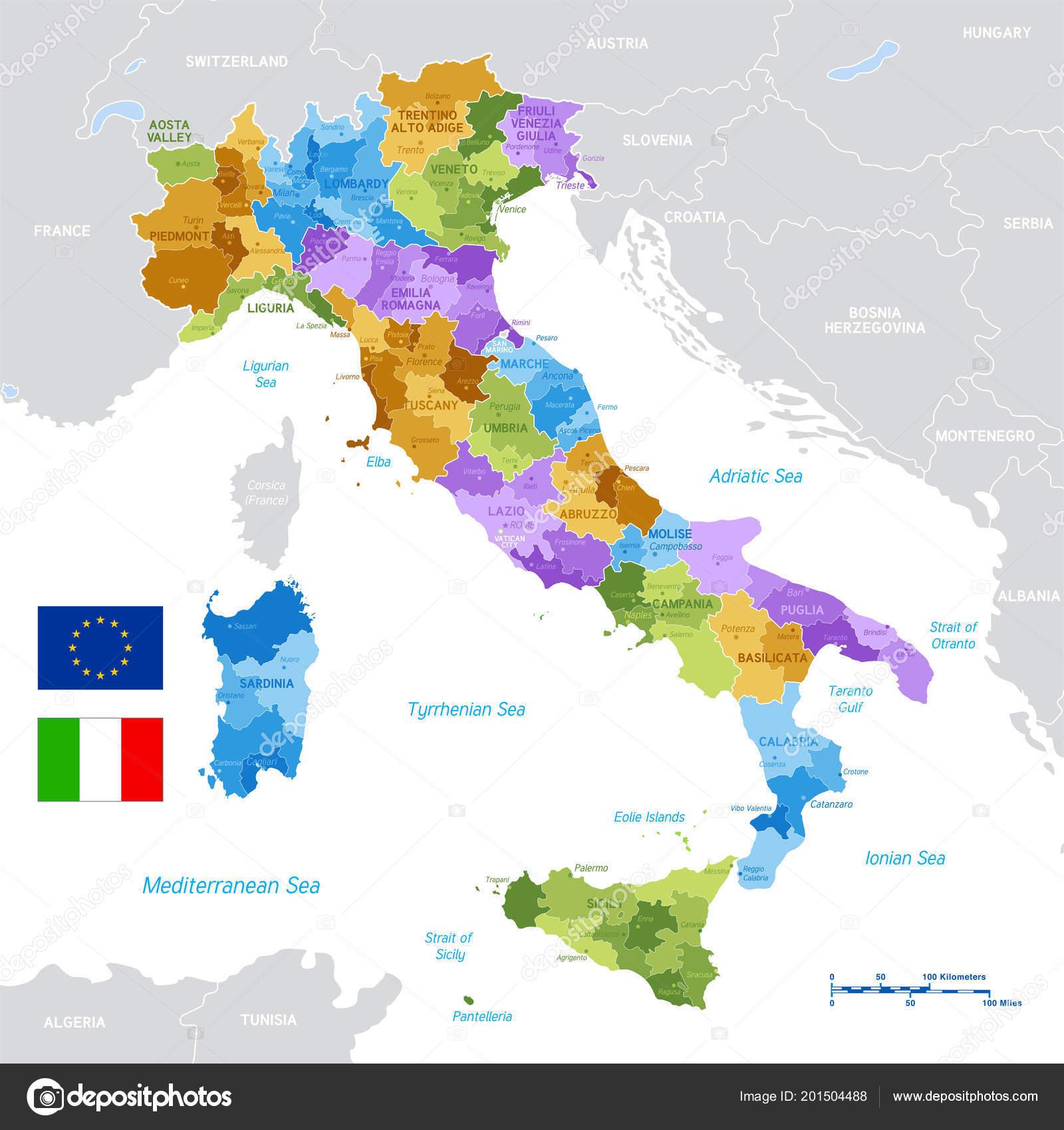 Cartina Italia E Province.Cartina Italia Politica Vettori Stock Immagini Disegni Cartina Italia Politica Grafica Vettoriale Da Depositphotos