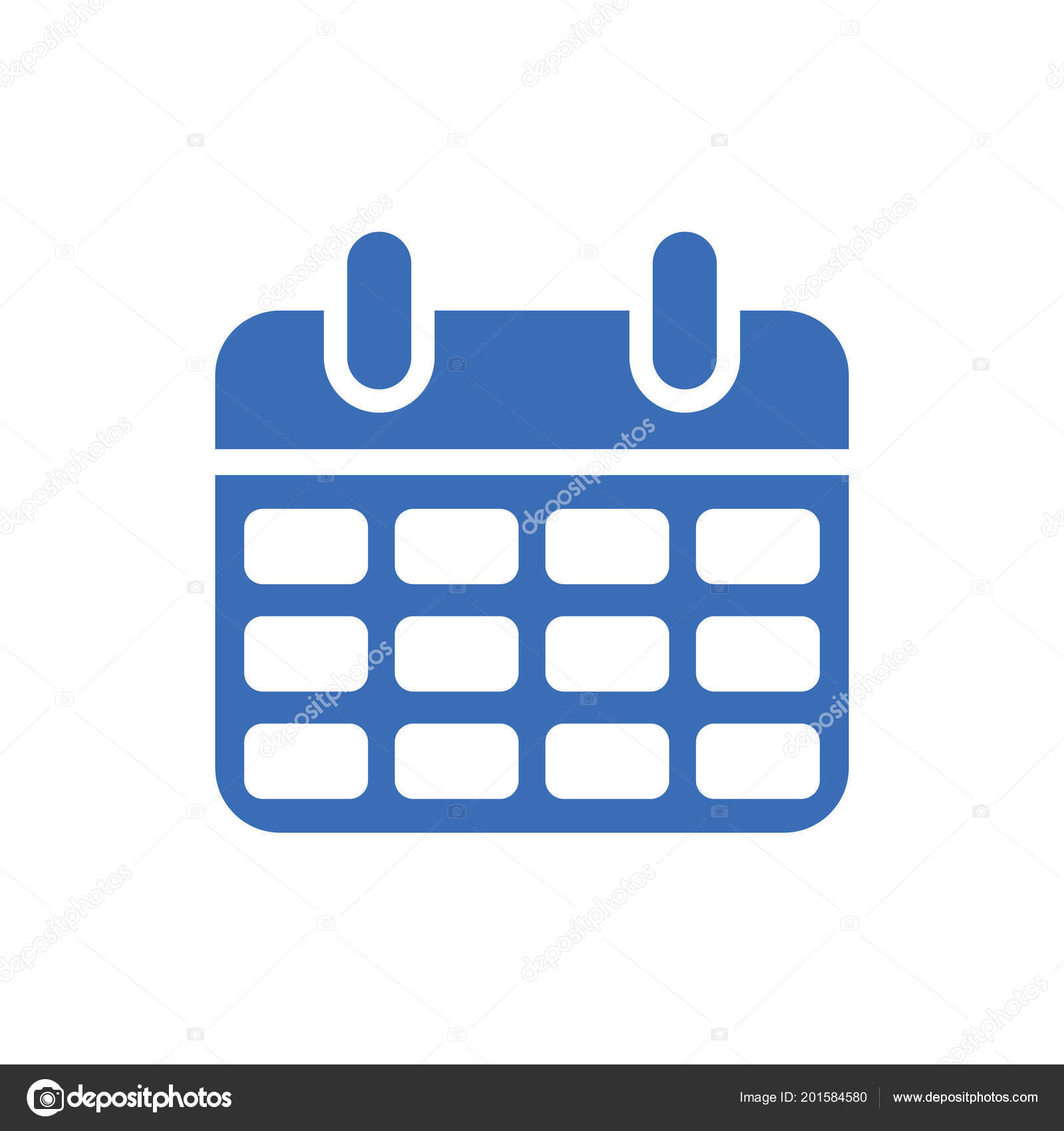 Simbolo De Calendario.Calendario Simbolo Di Evento Giorno O Mese Icona