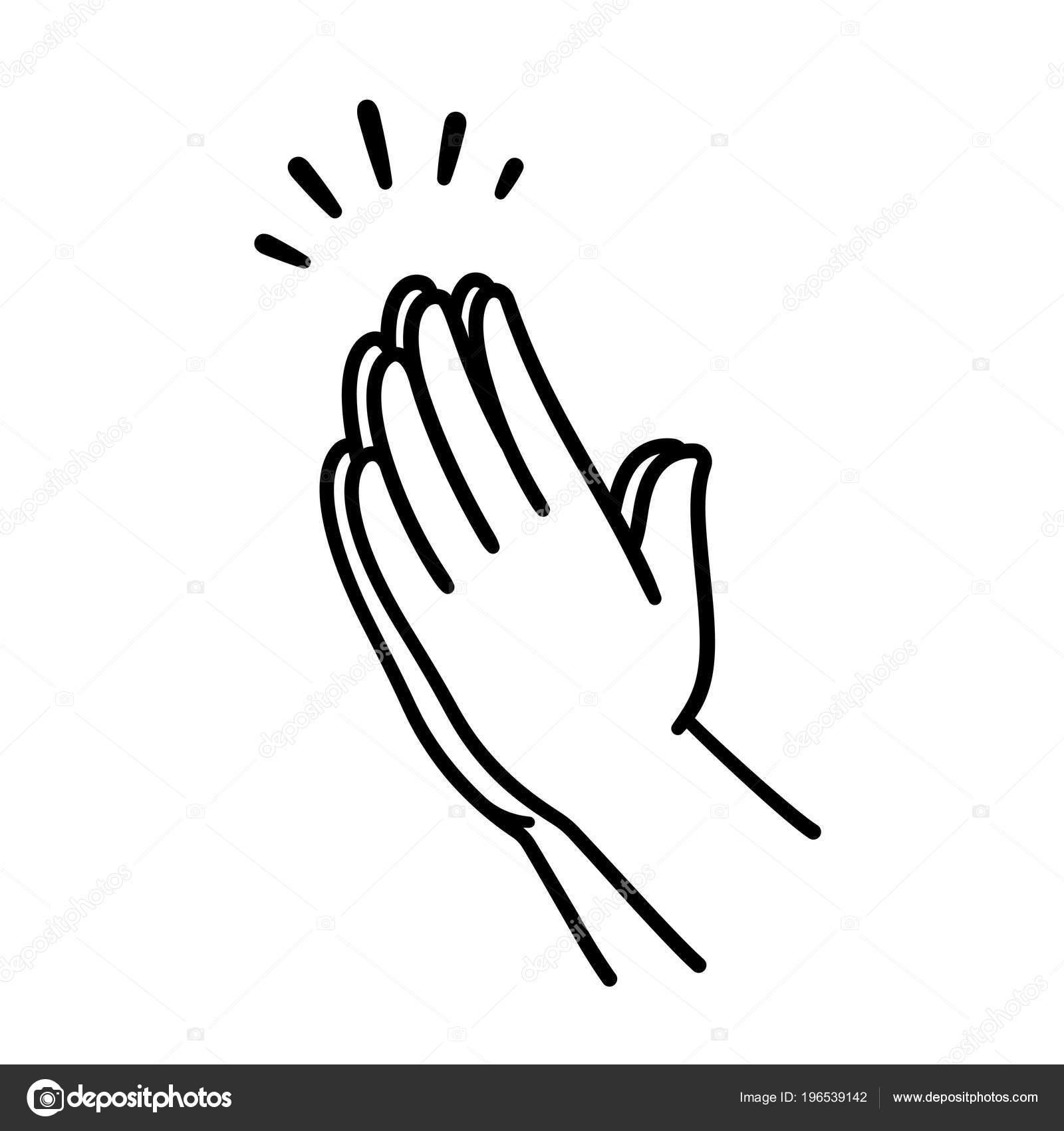 hand waving drawing - 800×800