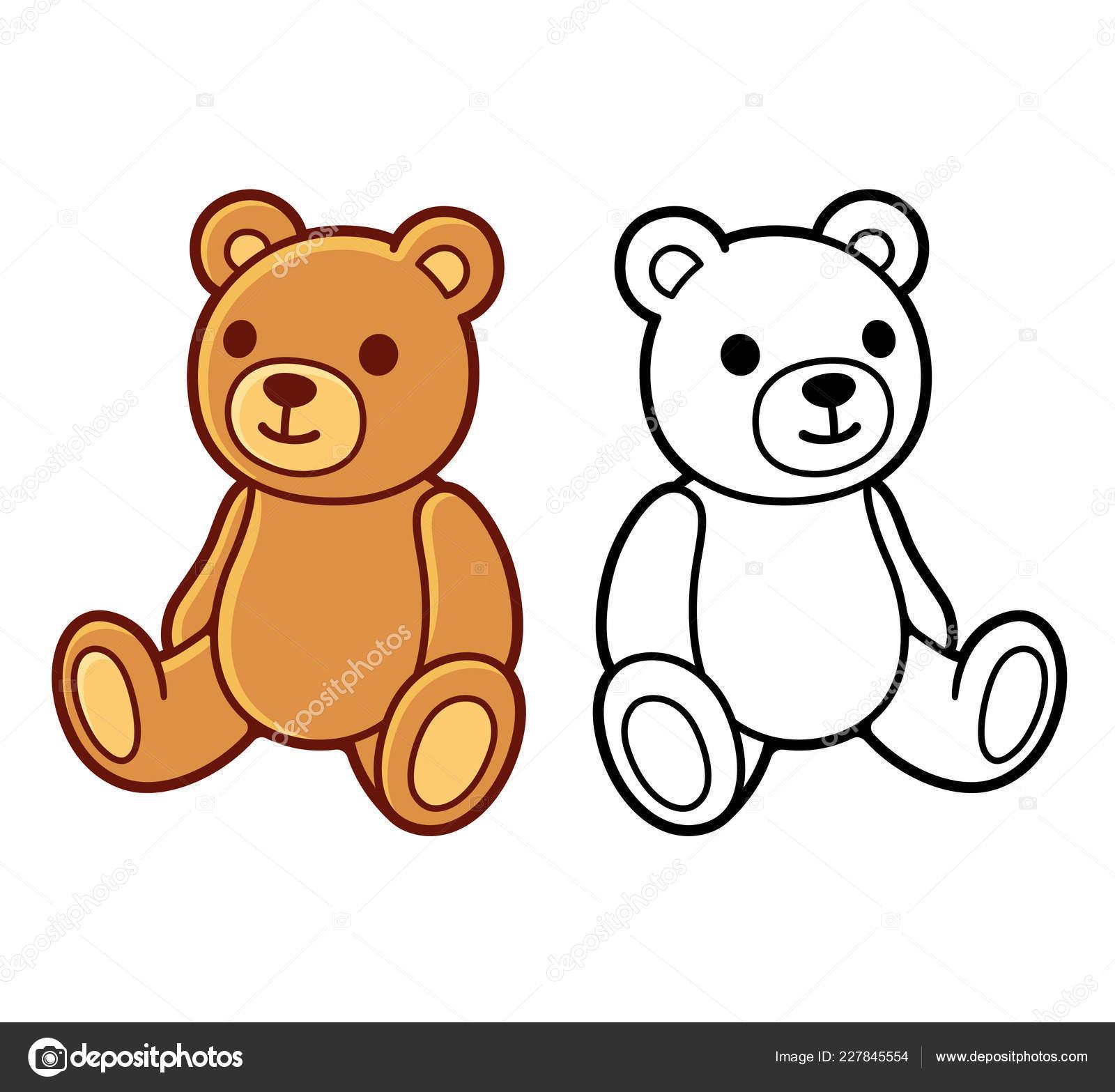 Hracka Plysovy Medved Cerne Bile Cary Umeni Kolorovanou Kresbu