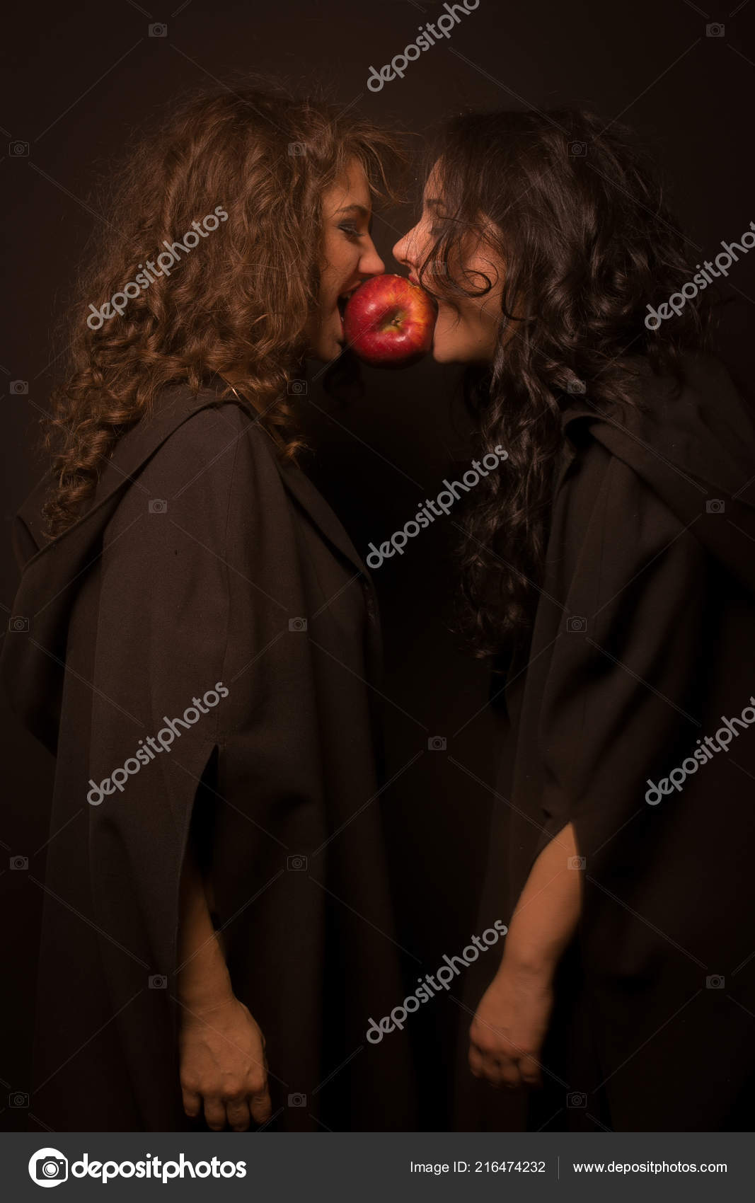 Apple Discord Halloween Coven Witch — Stock Photo